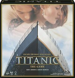 《new》the Titanic Movie, Strategy Party Game, For Adults And Kids Ages 12 And Up