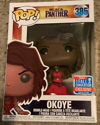 Funko Pop Marvel - Black Panther - Okoye 385 - 2018 Fall Convention Exclusive