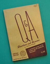 1920-45 Harley Ulh El Jdh Fl Indian Chief Scout Motorcycle Service Manual Book