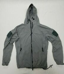 Pcu Level 5 Orc Industries Soft Shell Jacket Alpha Gray Size Large Long Seal Cag