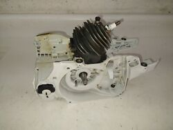Stihl Ms261c Ms261 Chainsaw Crankcase Piston Cylinder Assembly Oem Read