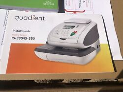 Quadient Neopost Hasler Is-330 Small Office Shipping Mailing Machine