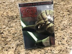 Star Wars The Clone Wars The Complete Season 2 Box Set Dvd New Factory Sealed