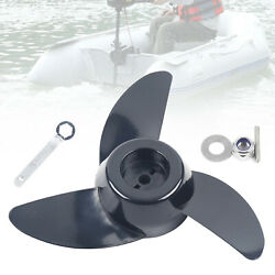 Replacement Power Prop Kit 3-blades Electric Trolling Motor Outboard/propeller And