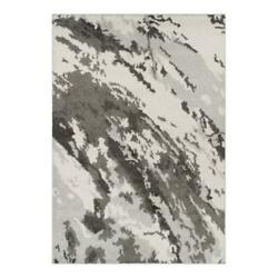Addison Rugs Reston 9and0396 X 13and0392 Nebulous Shag Fabric Area Rug In Gray