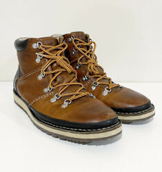 Sperry Top-sider Mens Alpine Boots Dockyard Size Us 10.5 M Black Brown Leather