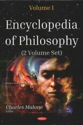 Encyclopedia Of Philosophy Hardcover By Malone Charles Edt Like New Used...