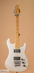 Kramer Pacer Pearl White Made In Usa 1980s St Type Electric Guitar L1276