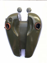 Gasoline Tank, Oil Tank, Two Correct Covers For Harley Davidson Wla42