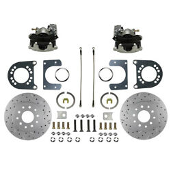 Leed Brakes Rear Disc Brake Conversi On Fits Ford 8in And 9in Rc0001x