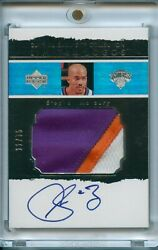2003-04 Ud Exquisite Collection Stephon Marbury Limited Logos Patch Auto /75