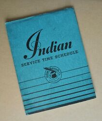 Original 1930and039s 40 Indian Motorcycle Manual Dealer Service Book Scout Chief Four