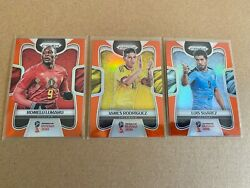 Panini Prizm 2018 World Cup 191 Card Orange /65 Lot No Doubles See Details