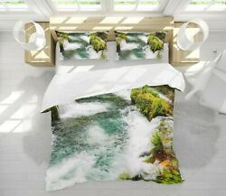 3d River Water Nao11246 Bed Pillowcases Quilt Duvet Cover Set Queen King Fay