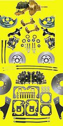 Gm Front And Rear Disc Brake Kit 10 12 Bolt A F X Body Conversion Brakes Ds Pr Wb
