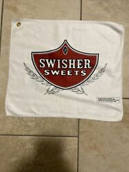 Rare Swisher Sweets Tobacco Cigar Collectible White Golf Towel Free Shipping