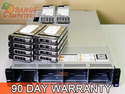 Dell R720xd 20-core Server 2x E5-2670 V2 2.5ghz 96gb 8x 6tb Sas H710p 3.5in Rps