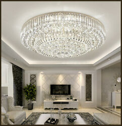 Luxury Gold Crystal Chandelier Lighting Lobby Hall Entry Way Dining Room Light