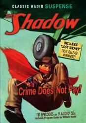 Shadow Crime Does Not Pay Old Time Radio Classic Radio Suspense