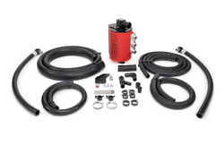 Iag V3 Competition Air/oil Separator Red Aos For 2008-14wrx 2008-2020 Sti