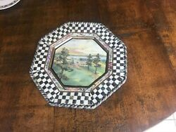 Mackenzie Childs Courtly Check Dinner Plates