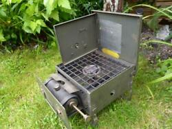 British Military Army Gas Petrol Safety Cooker No.2 Mk.2 Modified Camping Stove
