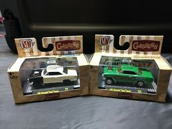 M2 Machines 1967 Chevrolet Nova Gassers Lot Of 2 Instigater And Oreilly Exclusive