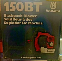 Sealed Husqvarna 150bt Commercial 50cc 2 Cycle Gas Backpack Blower
