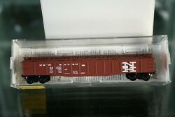 N Scale 106010 Micro Trains Mtl New Haven Nh 50' Steel Side Gondola W/ Low Cover
