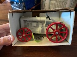 Fordson Antique Tractor Red Steel Wheels