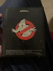 Authentic Ghostbusters Atari 2600 Video Game Cartridge Ghost Busters
