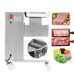 Hot 500kg New Meat Slicer Meat Cutting Machine Cutter 110v With One Set Blade