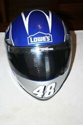 Jimmie Johnson 48 Lowes Full Size Helmet Hms-low15 Jrm 11 Special Edition.