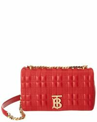 Lola Small Quilted Leather Crossbody Womenand039s Red