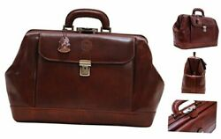 Leather Doctor Style Briefcase Bag