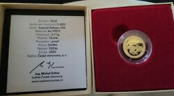 2020 Niue 1/10 Oz Gold Proof Mythical Creatures Dragon - Sku209442