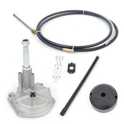 Boat Rotary Steering System Outboard Kit 12 Foot Marine6 Safe-t Steady Boat Kits