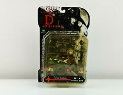 Vintage Collectible Vampire Hunter D Leila And Her Bike Action Figure