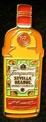 Tanqueray Sevilla Orange - Small Bottle Pin - Jacket Or Hat Or Tie Pin - Metal