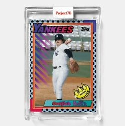 Topps Project 70 Card 386 - Catfish Hunter By Claw Money - Presale