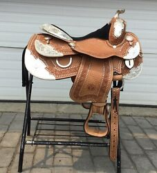 Circle Y Limited Edition 14.5andrdquo Western Show Saddle