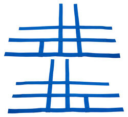 Yfz 450 450r 450x Nerf Bar Nets Fit Alba Tusk With Heel Guards Blue J