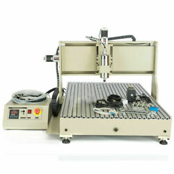 Usb 3/4axis 6090 1.5/2.2kw Cnc Router 3d Engraver Engraving Metalworking Machine