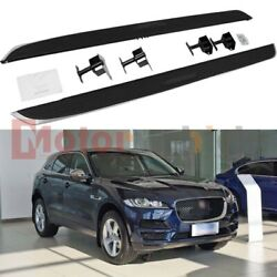 Us Stock Side Step For Jaguar F-pace 2016-2022 Running Board Nerf Bar Guard