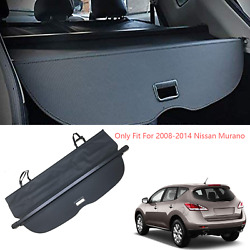 Cargo Cover Compatible With 2008-2014 Nissan Murano Retractable Trunk Shielding