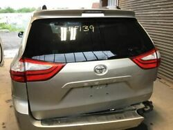2011-2014 Toyota Sienna Trunk/hatch/tailgate Le W/back Up Camera Gold 2814103