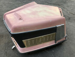1959 Evinrude Starflite 50 Hp Fat Fifty Outboard Motor Hood Cowl Boat Vintage