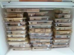 30 Stampinand039 Up Rubber Stamp Sets Wood Mounted Great Lot Of Rubber Stamps