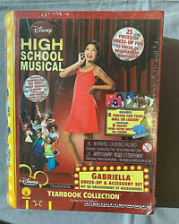 High School Musical - Gabriella Dress Up Accessory Kit Yearbook New Sealed