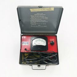 Vintage Sun Electric Tachometer Tester Test Equipment Model St-88 Untested As Is